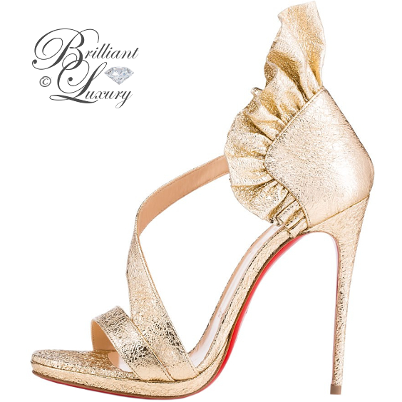 Brilliant Luxury ♦ Christian Louboutin Colankle Sandal