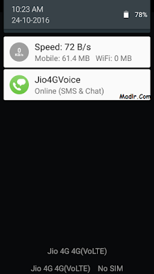 Fixed Jio4GVoice Ofline
