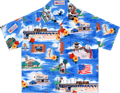 Gavin Arts' Surf City Hawaiian Shirt