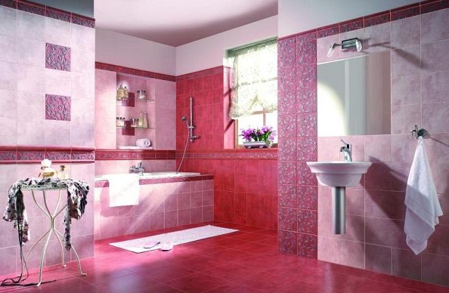 20 fotos de casas de banho em cor de rosa decora o e ideias - Casas en roses ...