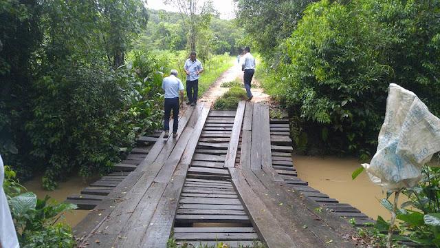 Ponte no Taquaruçu em Registro-SP será substituída