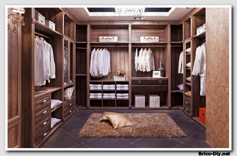 Walk in closet dise os modernos ideas para decorar y for Modelos de walk in closet