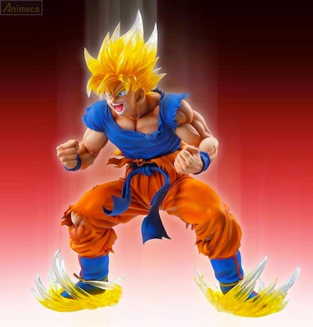FIGURA SUPER SAIYAJIN SON GOKU Ver.2 Chozo Art Collection Dragon Ball Kai