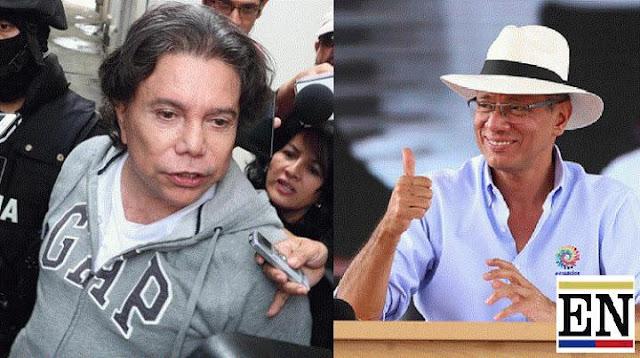 Jorge Glas y su tio Ricardo Rivera