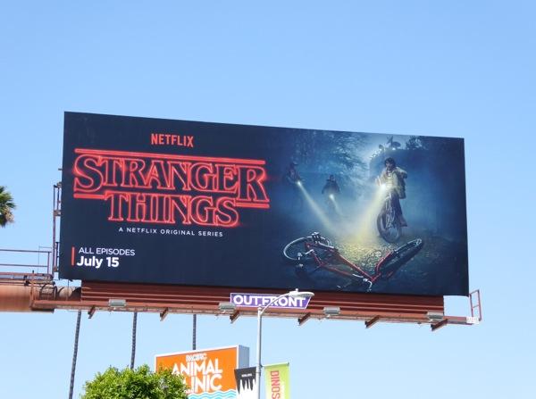 Stranger Things season 1 billboard