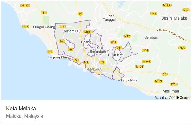 Melaka Maps
