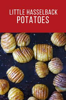 Little Hasselback Potatoes
