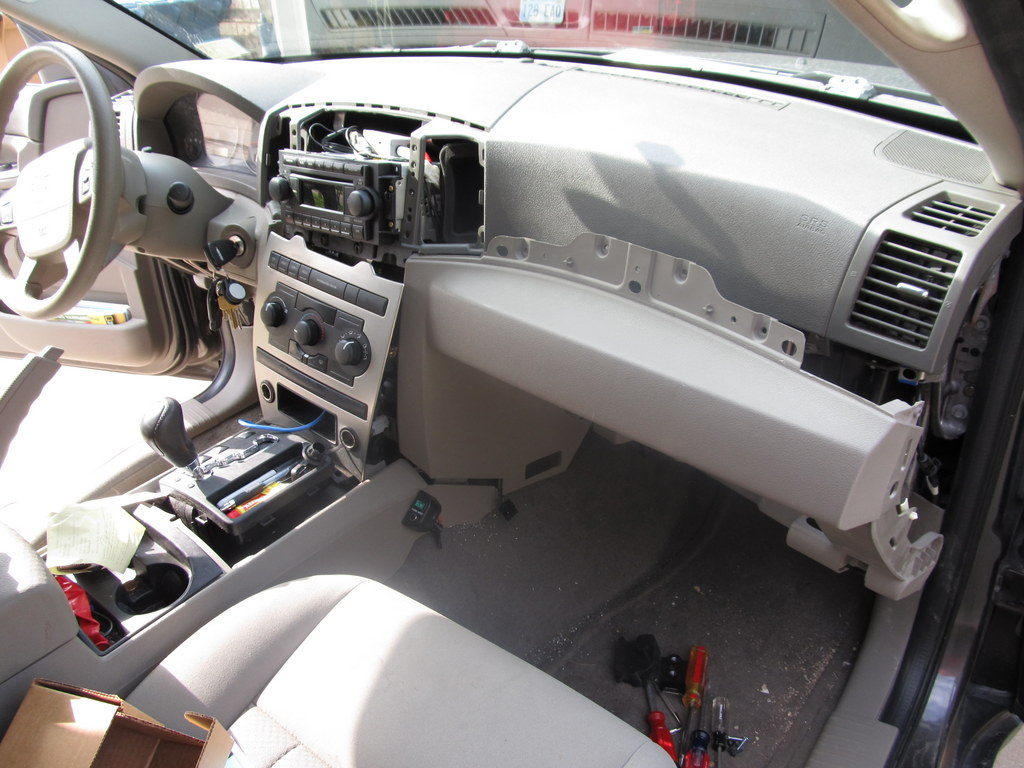 Here Is The Inside Of Me Jeep At Height Encounter