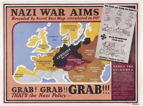 7 April 1940 worldwartwo.filminspector.com Nazi war aims British propaganda