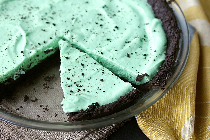 Chocolate Mint Pie