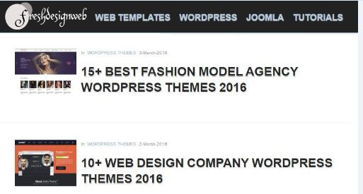 Top 10 SEO Friendly Templates For Blogger And Wordpress Free Download