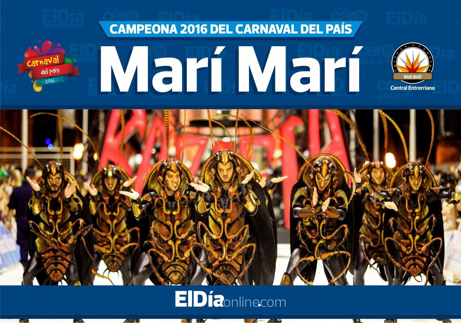 Campeona del Carnaval del País 2016