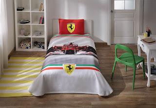 Taç Lisanslı Ferrari Formula Tek Kişilik Pike Takımı