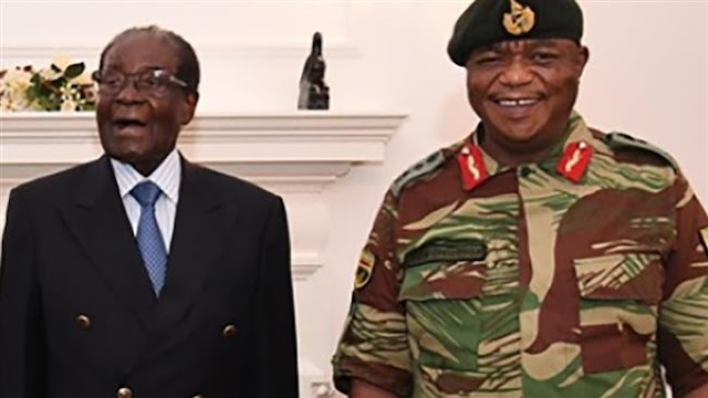 Zimbabwean General Constantino Chiwenga who helped end Mugabe's rule becomes vice president