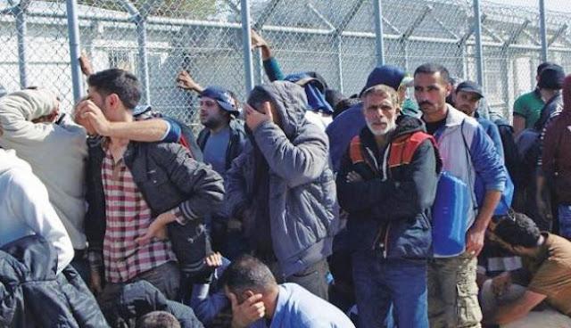 Εκρηκτική κατάσταση στη Λέσβο από 6.000 (λαθρο)μετανάστες!
