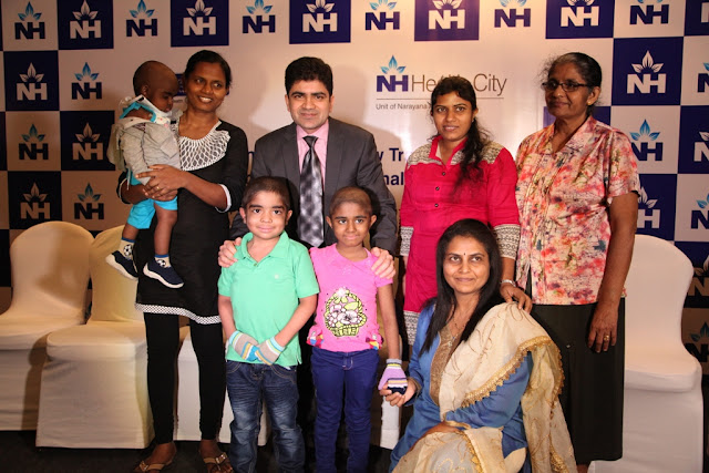 Sri Lankan children with Thalassemia treated through unrelated donor BMT Matching bone marrow cells sourced from across the world