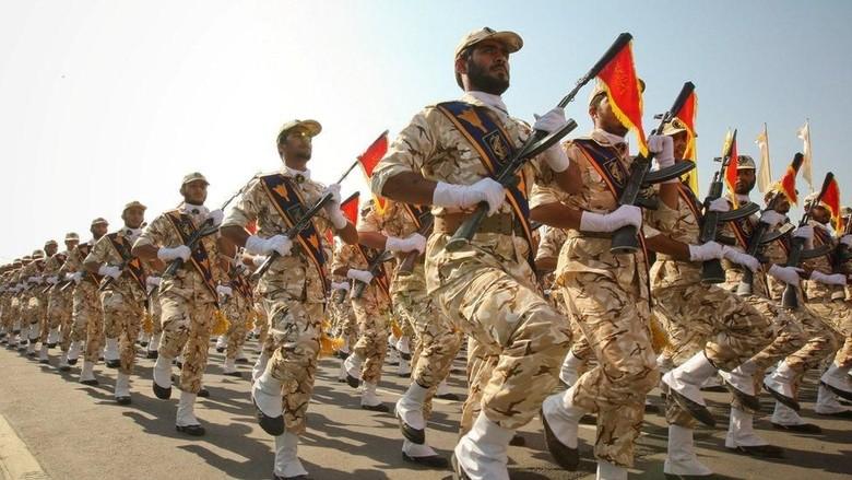 Garda Revolusi Iran Di Umumkan Trump Sebagai Organisasi Teroris