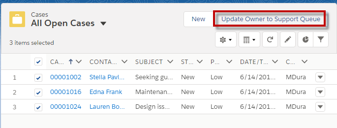 Infallible Techie: Mass Quick Actions in Salesforce Lightning