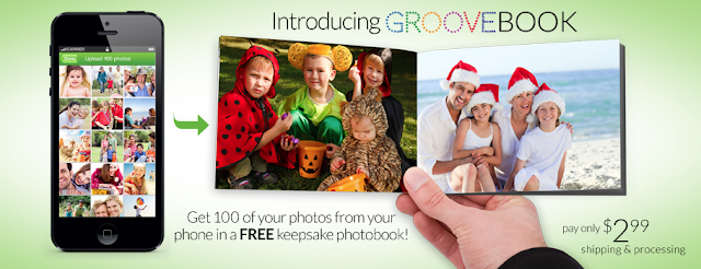 100 Free Pictures with GROOVEBOOK (Special Code)