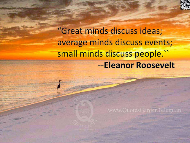 Best famous inspirational quotes on success  from Elenor Roosevelt
