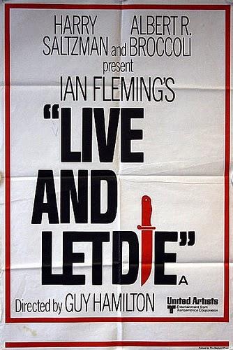 Teaser Poster für Live and Let Die