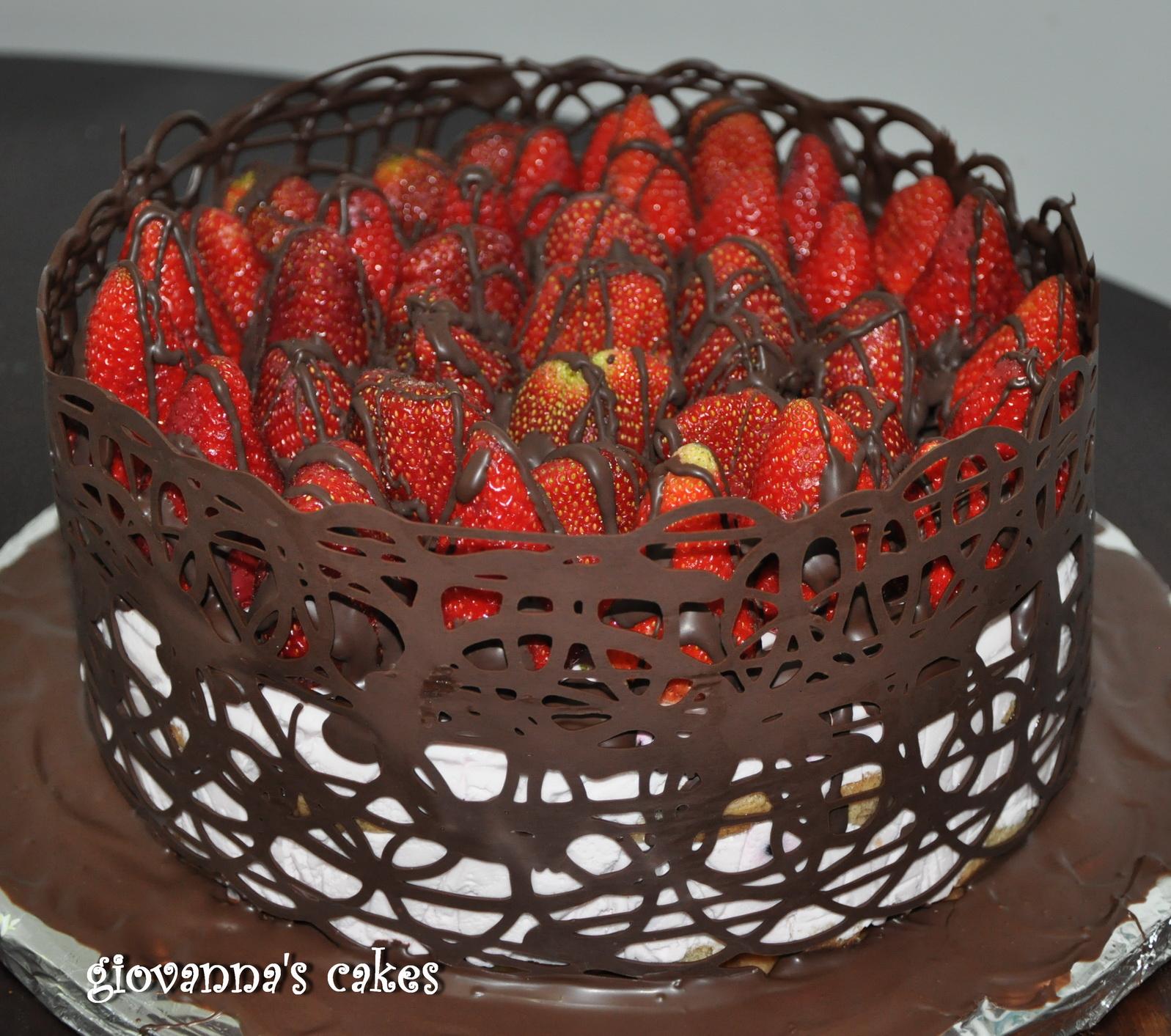Giovannas Cakes Chocolate Decorated