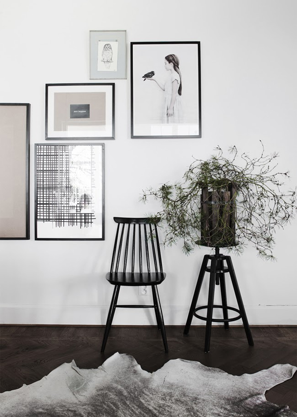 life as a moodboard gallery wall inspiration. Black Bedroom Furniture Sets. Home Design Ideas
