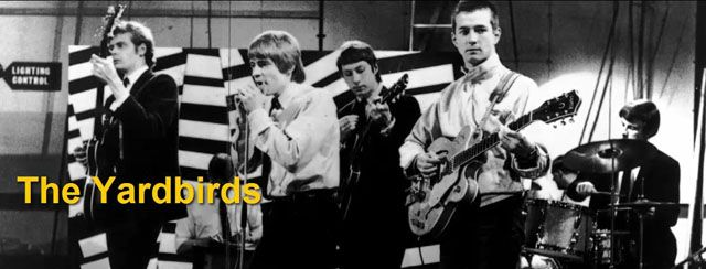 The Yardbirds con Eric Clapton
