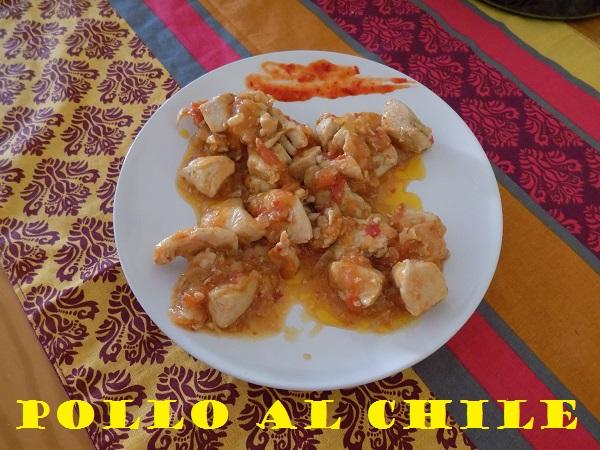Pollo al chile