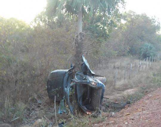 Acidente faz três vítimas fatais entre Piripiri e Domingos Mourão