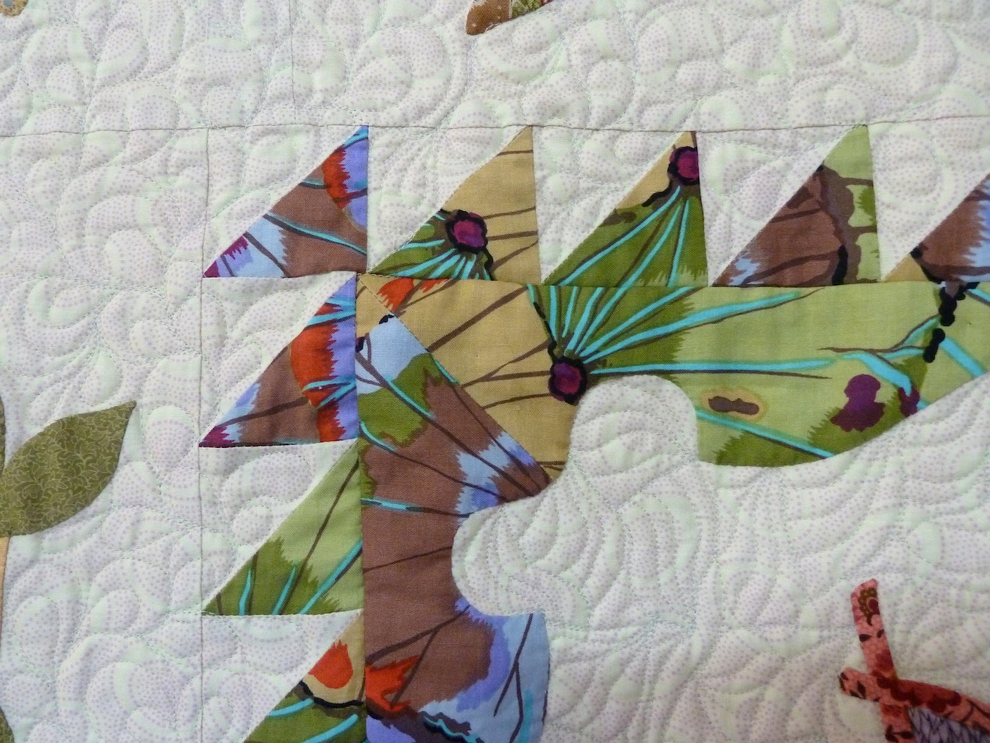 Appliqu 233 And Pieced Quilts