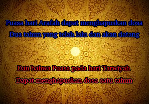 Lafadz Niat Puasa Sunnah Arafah Dan Tarwiyah 9 Dzulhijjah 2019 Sebelum Idul Adha