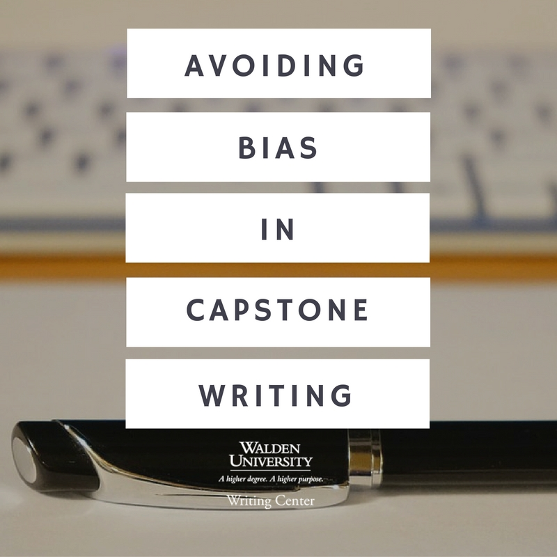 bias in writing Expressing ideas clearly and reducing bias in language writing style: the key  to good writing is clarity writing should be direct, precise and orderly as such.