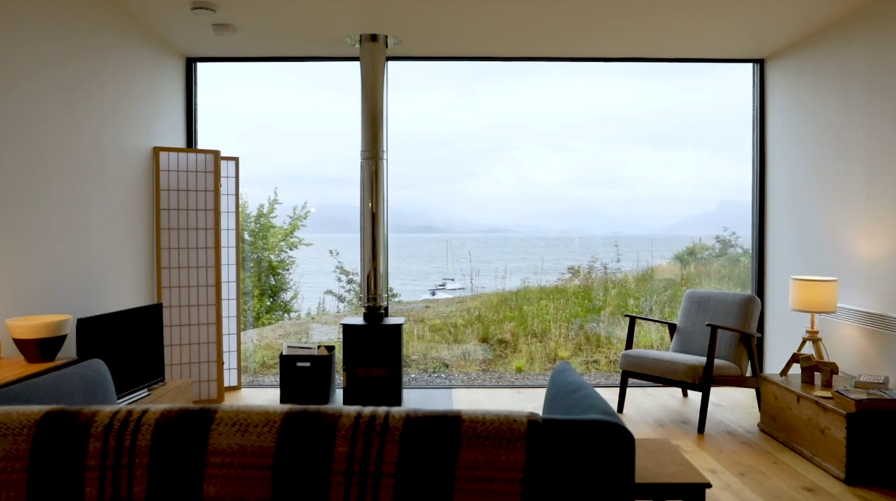 11 Photos vs. Black House on Isle of Skye In Scotland vs. Modernity Interior Design Tour