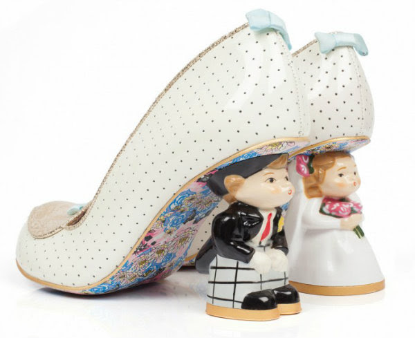 Irregular Choice i do bride groom heels