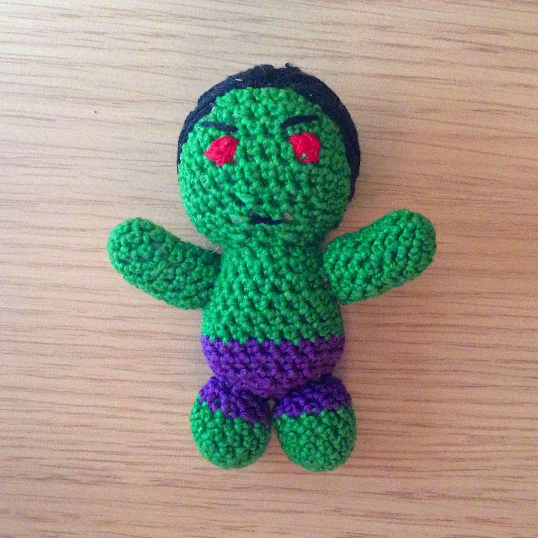 Hulk amigurumi uncinetto/ Hulk crochet / Hulk crochet parte 1 SUB ... | 1429x1429
