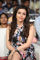 Kyra Dutta in a Deep neck Small Dress at Shamanthakamani pre release function ~  Exclusive 018.JPG