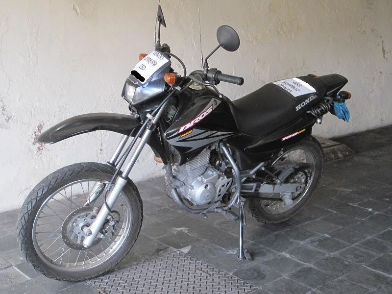 Minha primeira moto - Honda Bros 150 cc