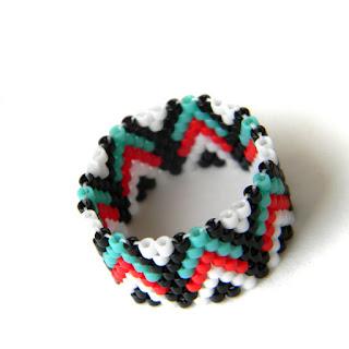 купить качественные украшения из бисера ручной работы в интернет магазине бижутерии кольца