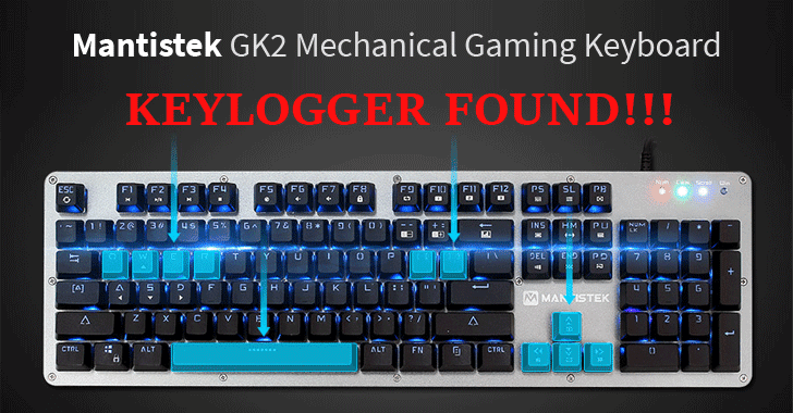 Mantistek-GK2-Mechanical-Gaming-Keyboard-Keylogger