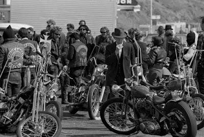 Bandas de moteros en los años 60