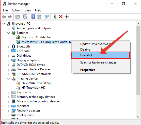 How to Fix Battery Plugged in, Not Charging in Windows 10 - Windows
