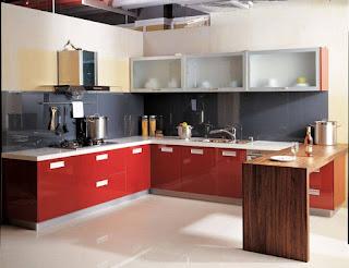 Tủ bếp gỗ Laminate HP8