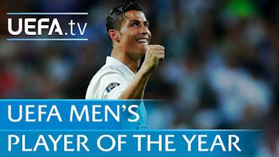 Cristiano Ronaldo named UEFA Men's Player of 2016/2017 season