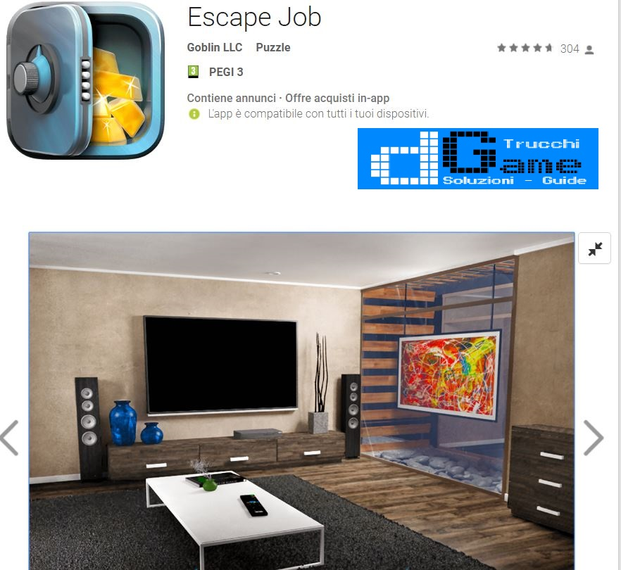 soluzioni Escape Job