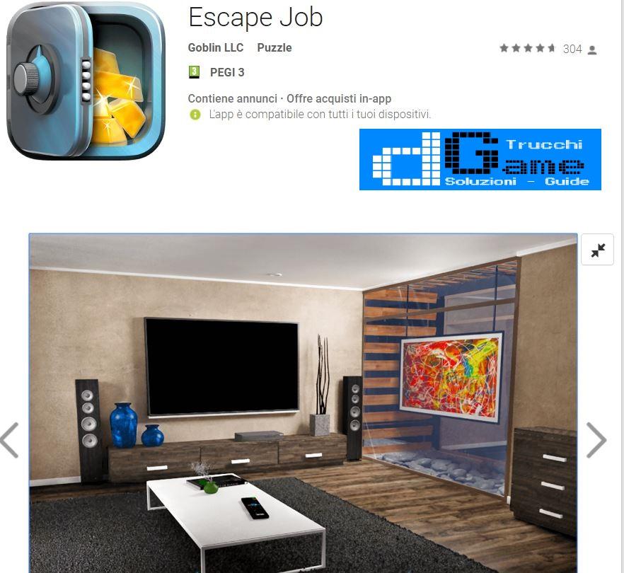 Soluzioni Escape Job | Tutti i livelli risolti con screenshot soluzione