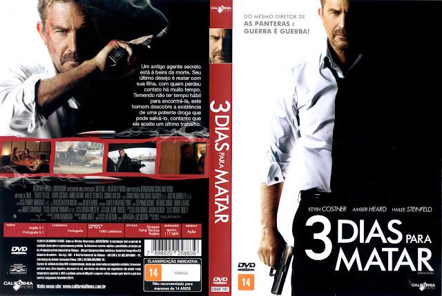 Capa DVD 3 DIAS PARA MATAR