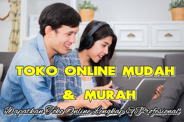 Buat Toko Online Murah Lengkap di Indonesia