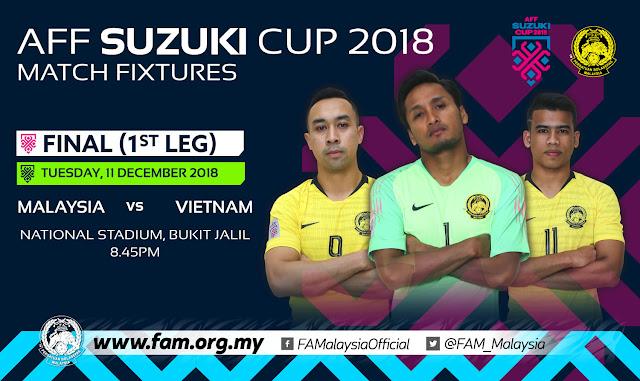 Malaysia vs Vietnam Final AFF Suzuki