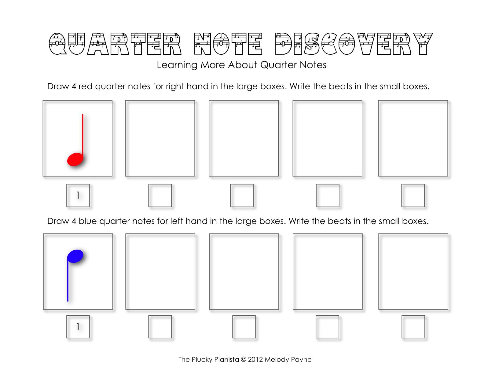 Quarter Note Discovery